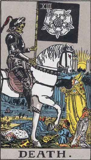 Death Tarot card for personal development