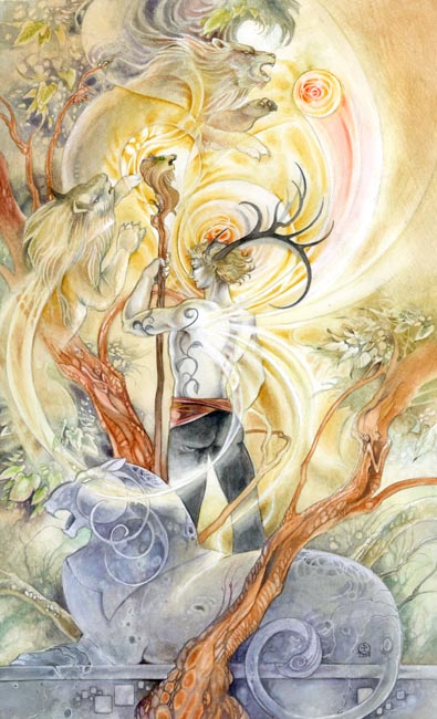 king of wands Shadowscapes